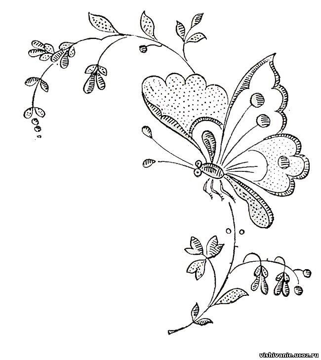 бабочка на ветке 22.04.2009