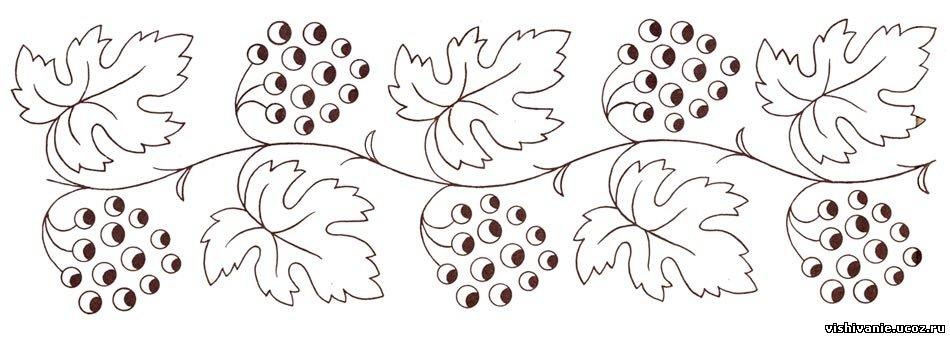 Схемы для вышивки гладью